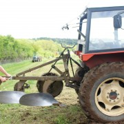 Iain Tolhurst by Tractor